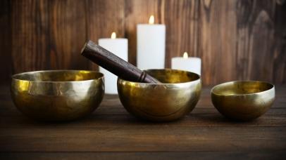 Tibetan handcrafted singing bowls